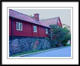 red house....