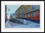 Love the old world charm of the cobbled streets and colorful houses...