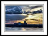 sunset in Stockholm...