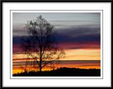 multicolored sunrise...