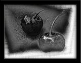mod art cherries