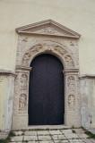 Zhovkva - Renaissance portal of St. Lawrence Church - The Door