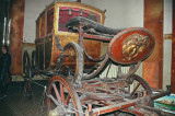 Carriage in Interior of Old Confectionery Firm Building