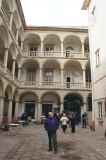 Courtyard of Kamienica Sobieski