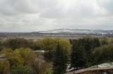 Ukrainian landscapes - view from Olesko Castle