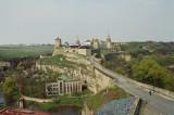 Kamianets-Podilskyi - city's castle