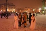 Warsaw under snow