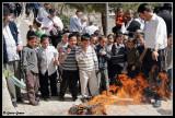 Burning Chametz before Passover