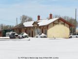 Ex-ATSF depot of Medicine Lodge, KS