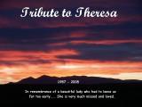 Tribute to Theresa....