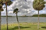 On bay lake
