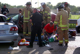 Two Vehicle Accident 07/30/2010