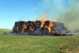 Hay bale Fire 12/12/2010