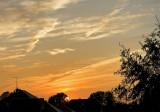Sunset With Parachutes
