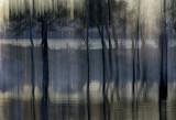 Evening Lake Stripes