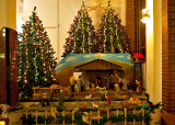 Christmas Crib At BV Mary Church