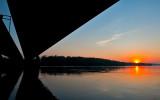 Sunset From Under The Bridge