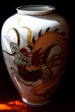Dragon On The Vase