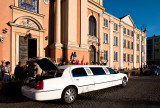 Limo For Bride And Groom