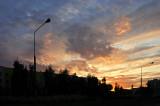 Sunset Between Two Lanterns