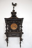 Clock With A Rooster