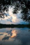 Wisla River Sunset