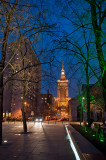 Downtown At Nightfall
