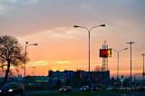 Traffic Sunset