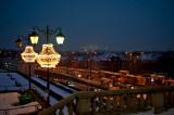 Warsaw Winter Panorama