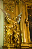 Golden Angel With A Child