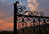 Ornamented Sunset