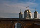 Zymne Monastery Golden Domes