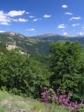 Rückblick zum Cakor-Pass