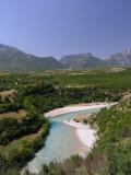 Valbona Fluss in der Nähe von Bajram Curri