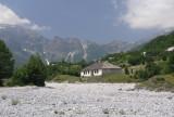 altes Haus im Valbona-Tal