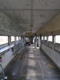 Gepäckwagen der Albanischen Bahngesellschaft