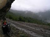 Warten auf das Ende des Regens (leider ohne Erfolg)