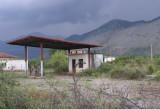 verlassene Tankstelle in der Nähe von Hani i Hotit (Grenze zu Montenegro)