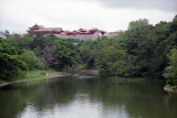 Shuri castle from far Reala