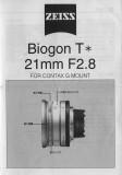 G-Biogon T* 2.8/21mm