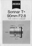 Carl Zeiss Contax G lenses