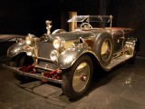 Polished aluminum 1926 Daimler