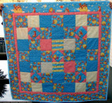Baby Quilt with Cows