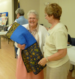 Birthday Quilt Winner Marge Ely, Sept 2010