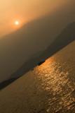 golden glow over Sai Kung