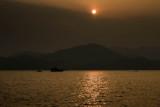 sunset over Sai Kun Island