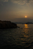 warm light on Sai Kung