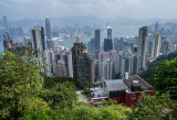 Victoria Peak Overlooking Hong Kong