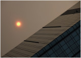 sunset in central...