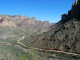 Apache Trail in Arizona - East End